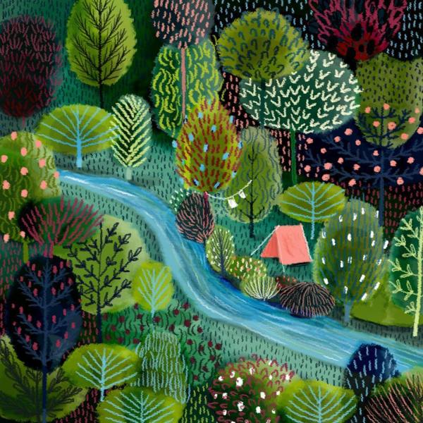 Painting Nature Illustrations