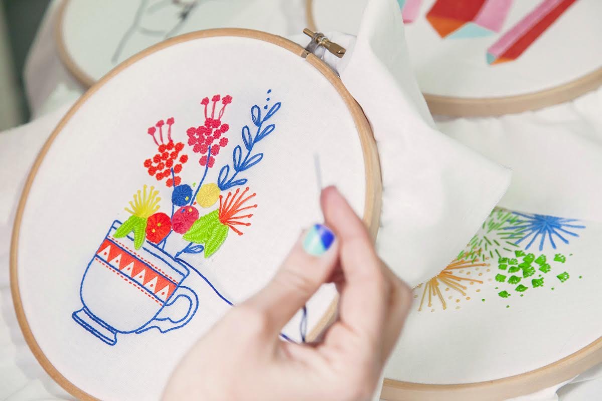 15 Hand Embroidery Patterns Ready For You To Download And Sew