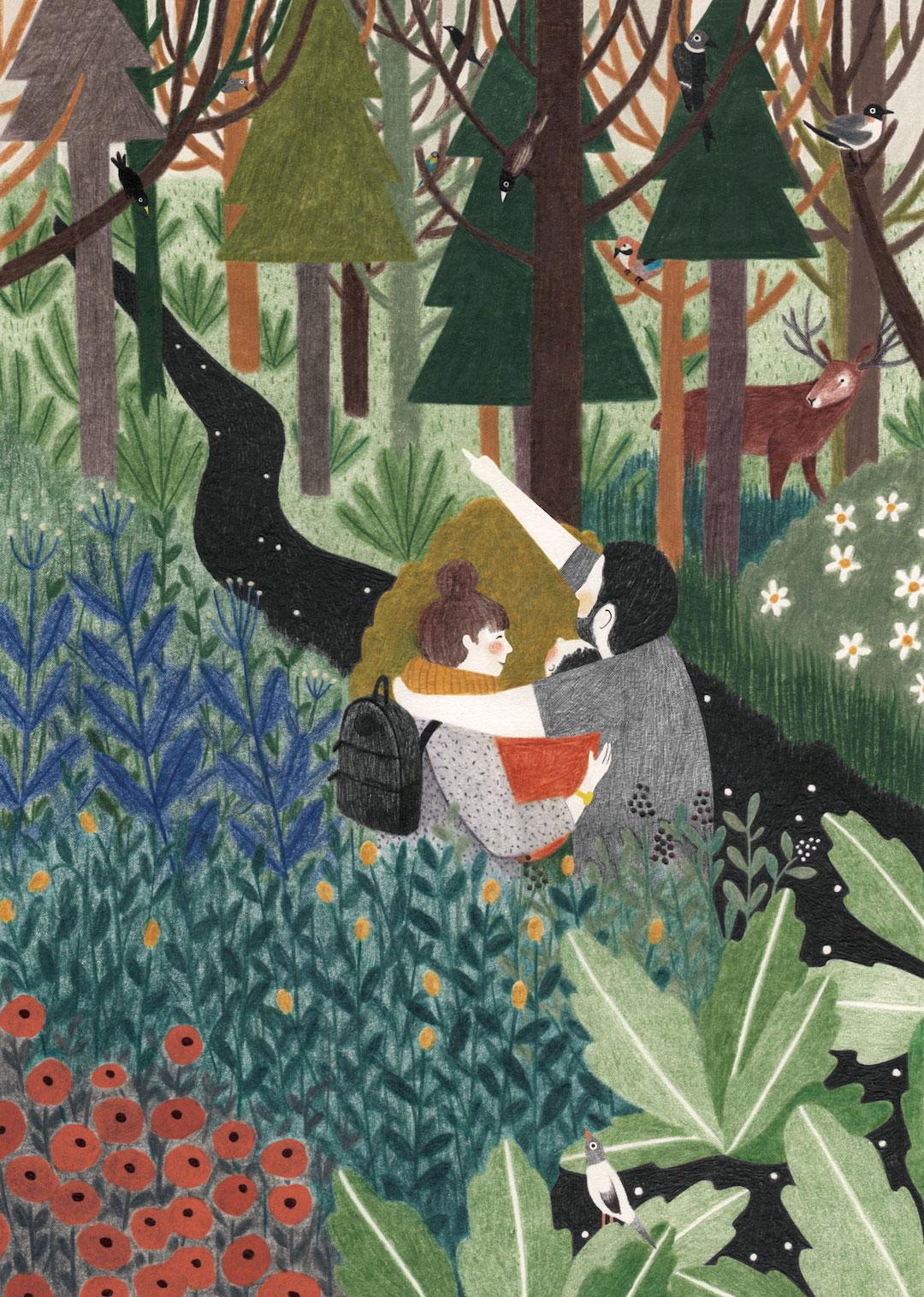 Illustration Work by Lieke Van Der Vorst Prizes Quiet
