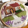 Fiber Artist Uses Stitches To Construct Complex