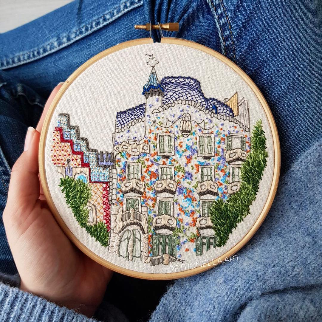 creative couple stitches travel