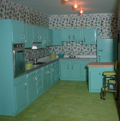 kitchen counter chairs drop leaf tables for small spaces 1959 house « manor minis and more
