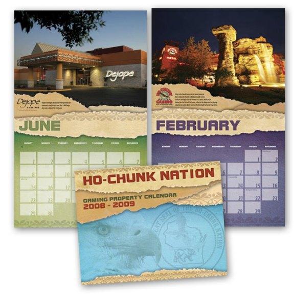 Promotional casino calendar