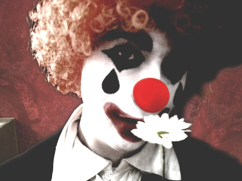 Bryan as Monsieur Clown