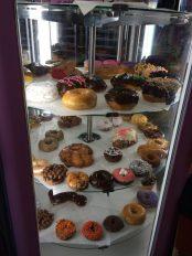 VooDoo donuts display