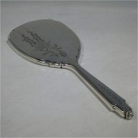 Hand Mirrors in Antique Sterling Silver Bryan Douglas ...