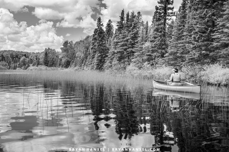 canoeing infrared