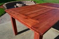 Woodwork Cedar Patio Table Plans PDF Plans