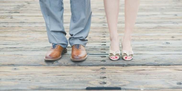 godly man and wife get married on boardwalk