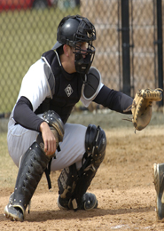 Vigurs catching for Bryant University