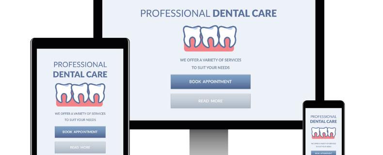 upgrade dental website