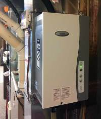 Steam Humidifier Install  Bryant Heating & Cooling