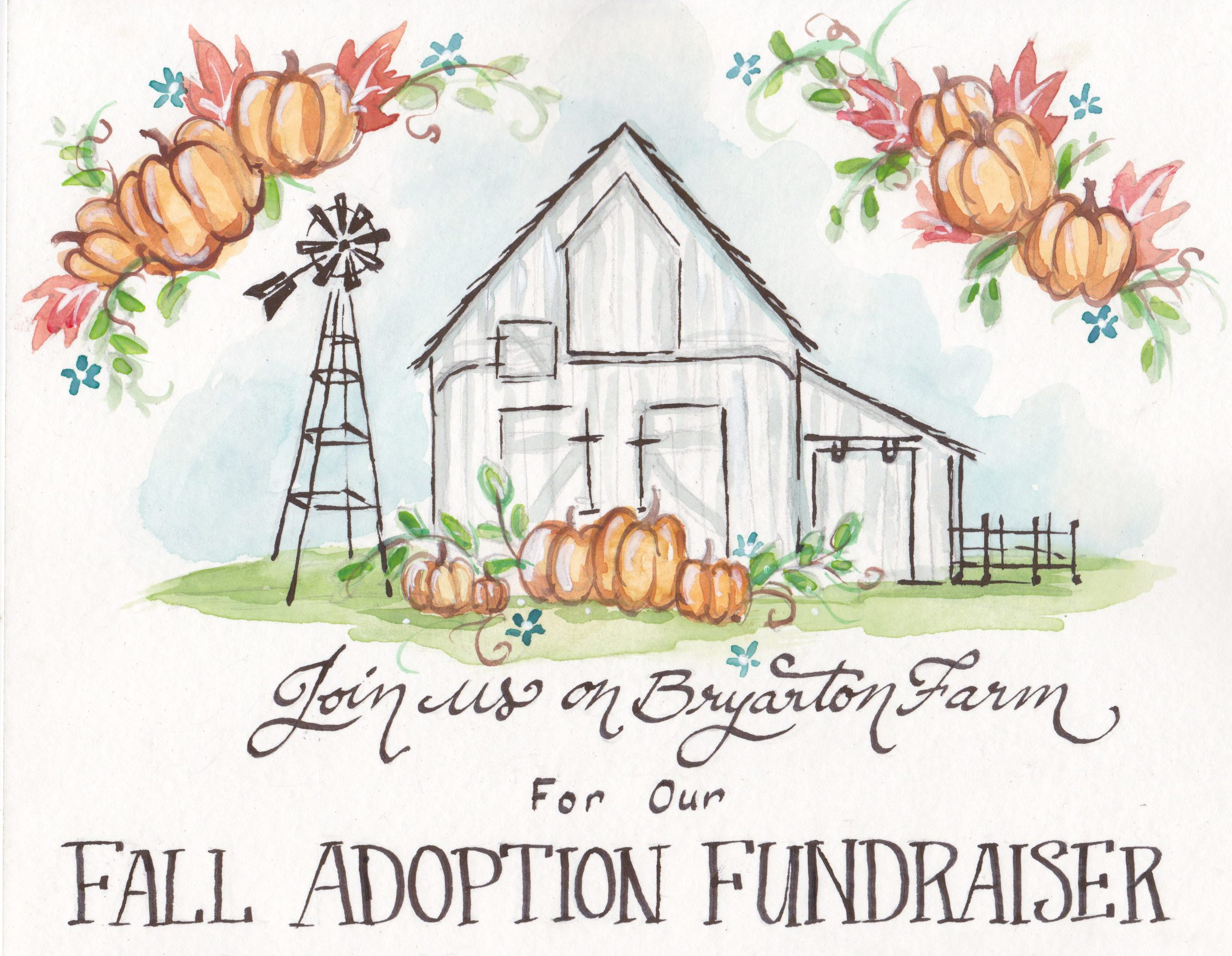 Bryarton Farm | Joining Arms to Bring Our Baby Home {Fall