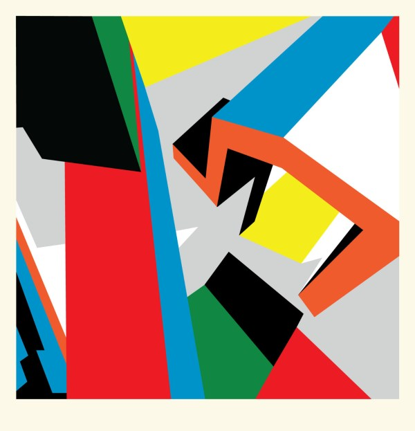 Geometric Abstract Limited Edition Serigraph Bryce Hudson 2011