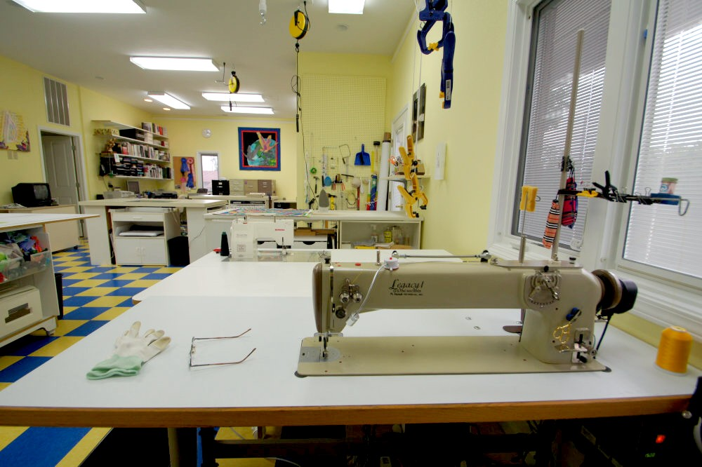 Tour Of Caryl Bryer Fallert's Private Sewing And Design Studio