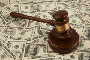 gavel money pile Personal Injury Attorney San Antonio
