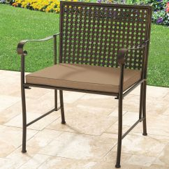Extra Wide Lawn Chairs Large Chair Slipcovers Outdoor Furniture Patio Pool Brylane Home Metal Folding