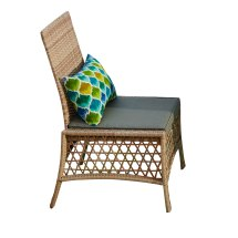 Santa Rosa Resin Wicker Dining Chair Furniture Brylane Home