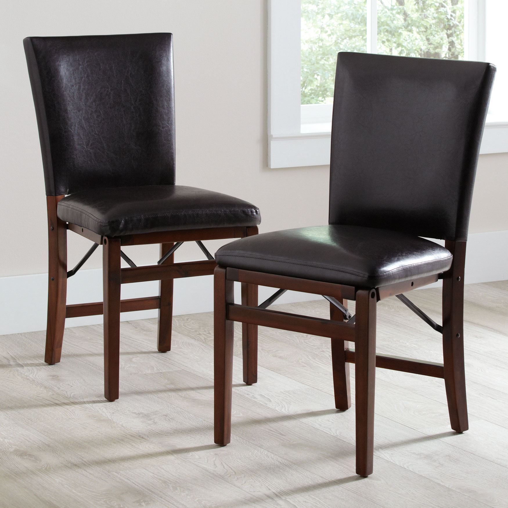 parsons chairs steel chair mrp folding set of 2 plus size dining tables brown