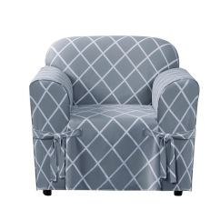 Brylanehome Chair Covers Cover Hire Worcestershire Mix Match Lattice Design Cotton Slipcover Plus Size Sofa