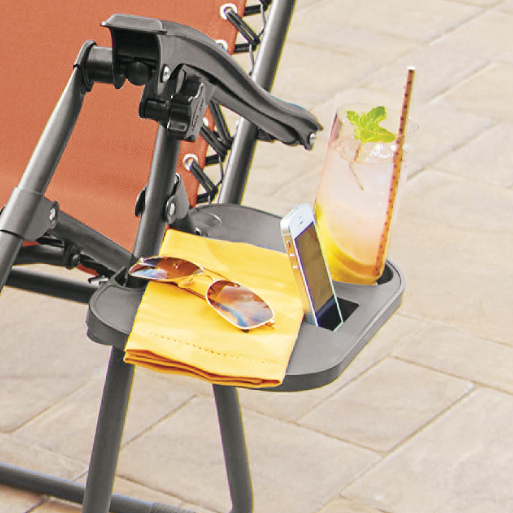 anti gravity chair table floor protectors zero clip on plus size outdoor chairs black