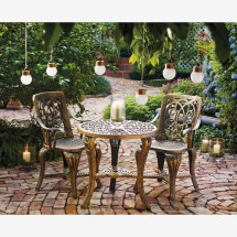 3-pc. Bistro Set Outdoor Dining Sets Brylane Home