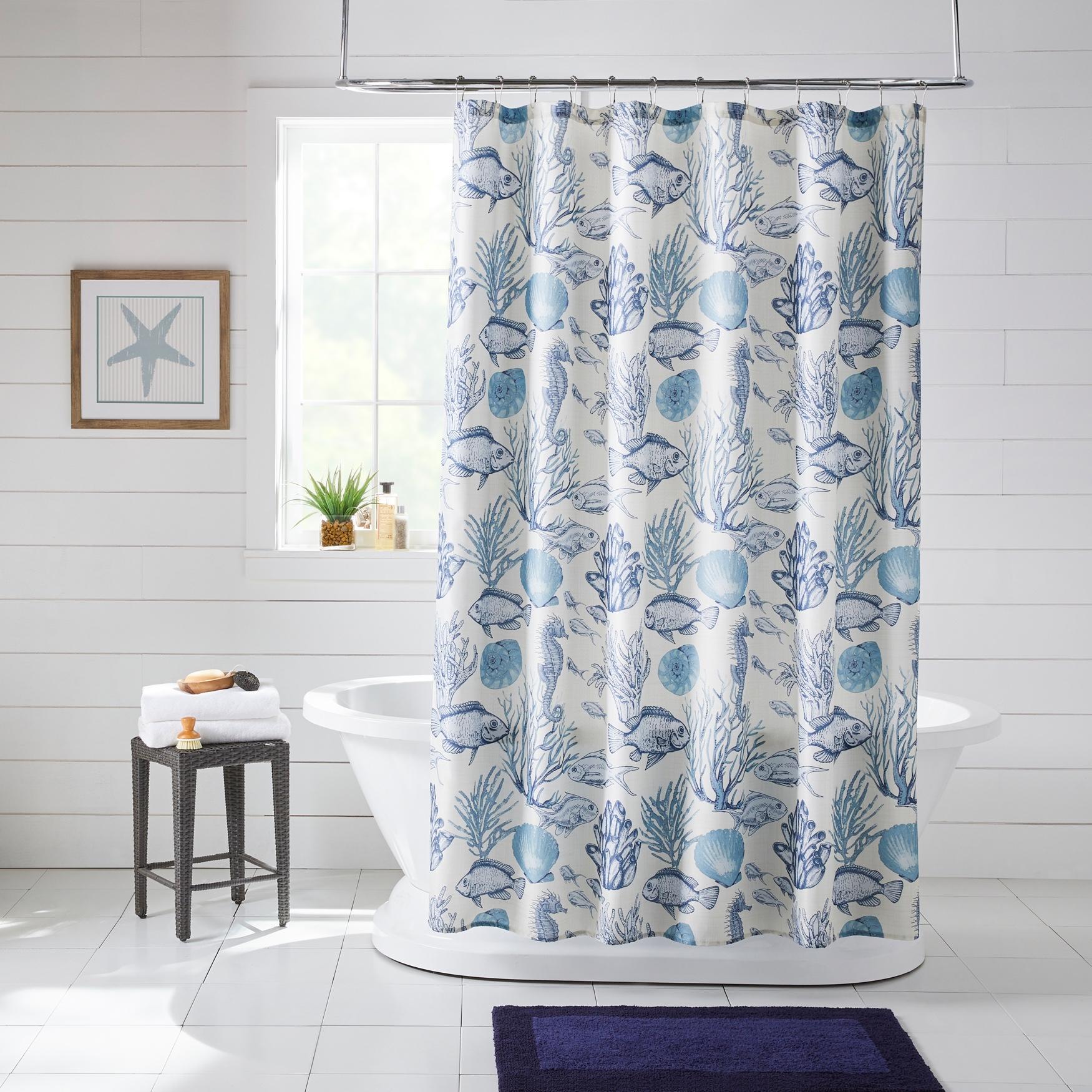 caribbean joe 14 pc shower curtain set
