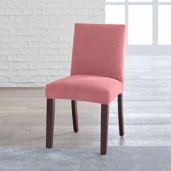 Dining Chair Covers Velvet Large Tub Brylanehome Studio Vera Stretch Slipcover