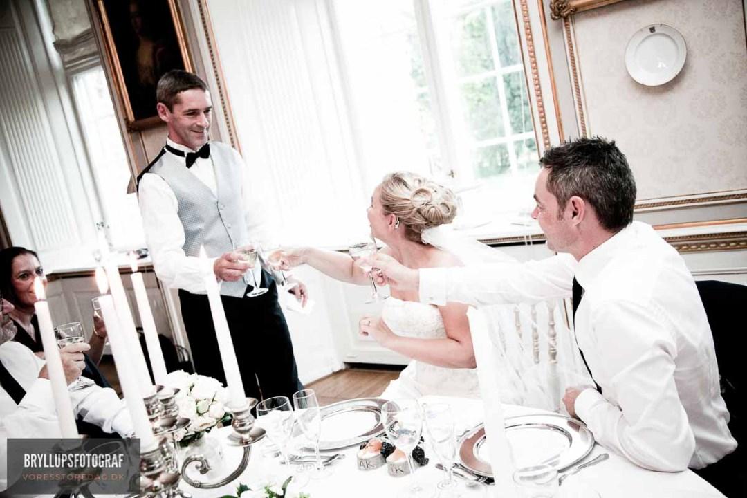 talerække bryllup