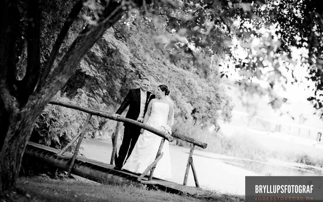 Vielse i Buerup Kirke og bryllupsfest på Lykkebjerg