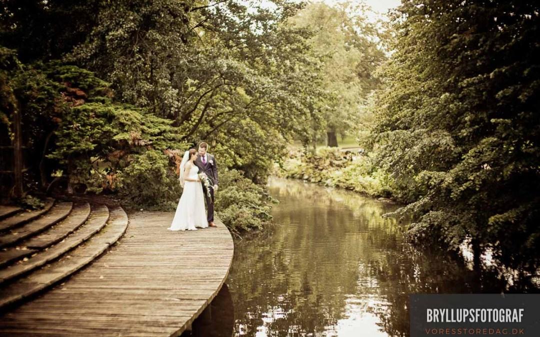 Brudeparret's bryllupsdag