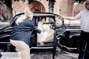 Transport på bryllupsdagen