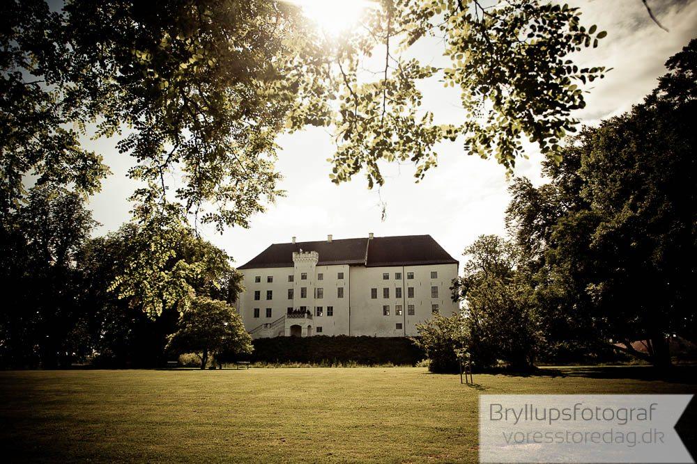Romantisk bryllup på Dragsholm slot