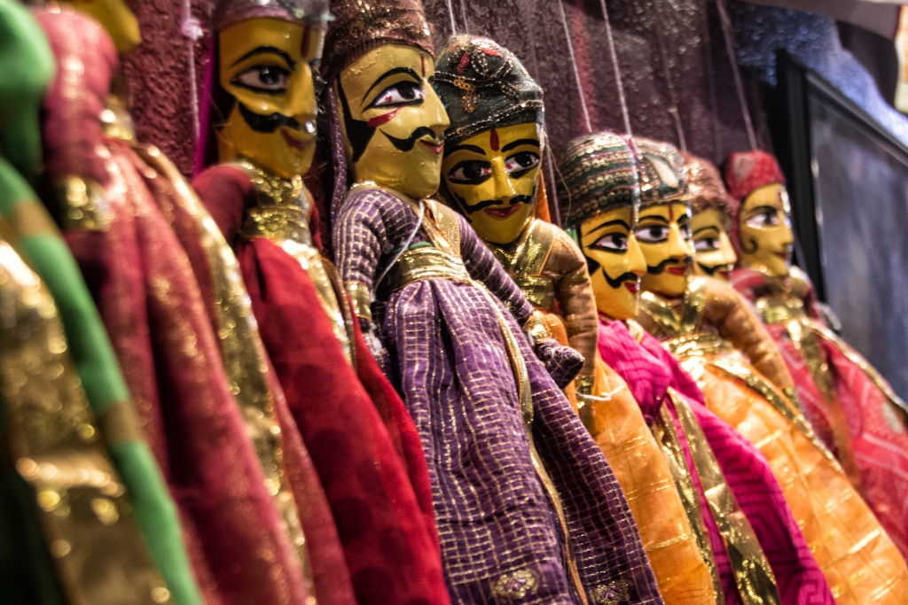Kathputli puppets at Culture Shakti