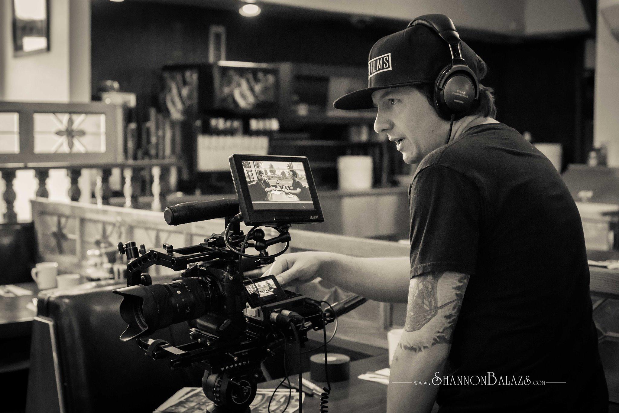 Shooting for documentary film Tournant.