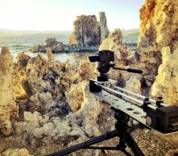 Testing the Cineflux Micro Timelapse Slider at Mono Lake