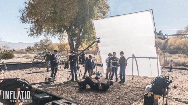 Inflatio short film, behind the scenes.