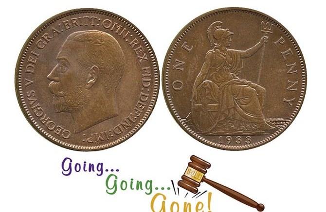 Moneta jednopensowa