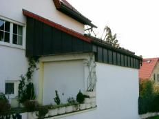 Fassadenverkleidung Ausfuehrung in Stehfalztechnik Kupfer1