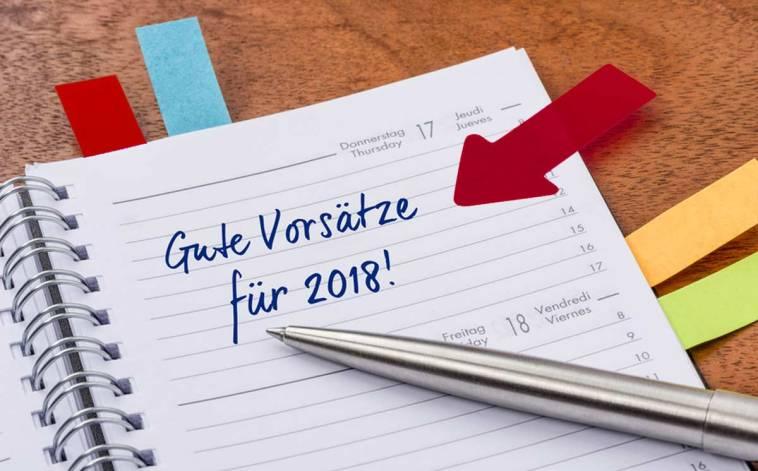 Neujahrsvorsätze