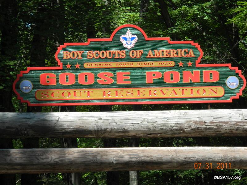 Troop Summer Camp 2011 @ GPSR
