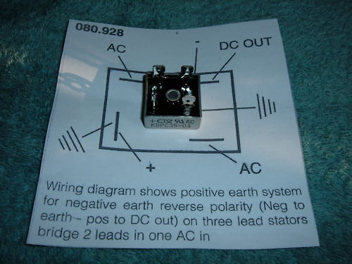 rectifier wiring for a dullard please  d10 d14 and b175 models