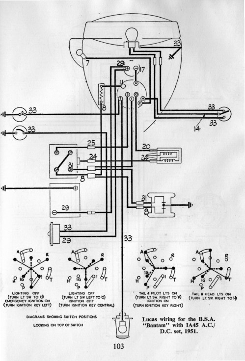 small resolution of lucas switch diagram d1 d3 d5 and d7 models forum bsa bantam club bantam switch wiring diagram
