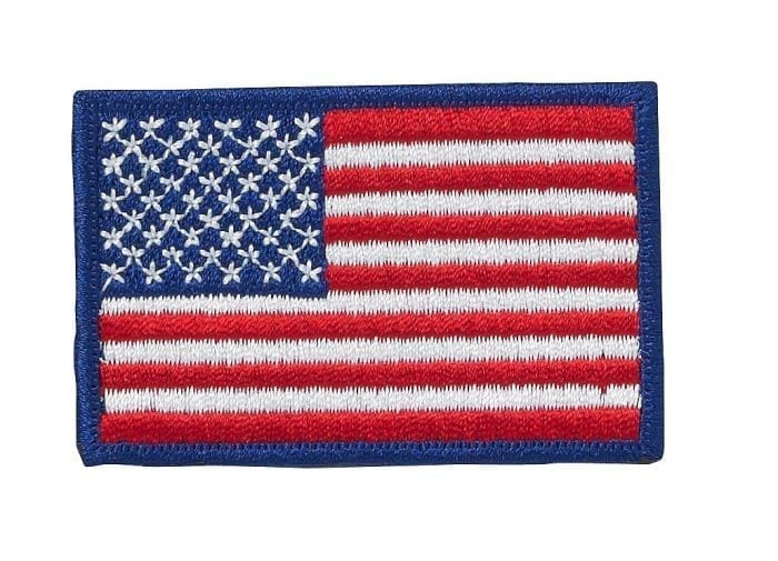 u s flag patch