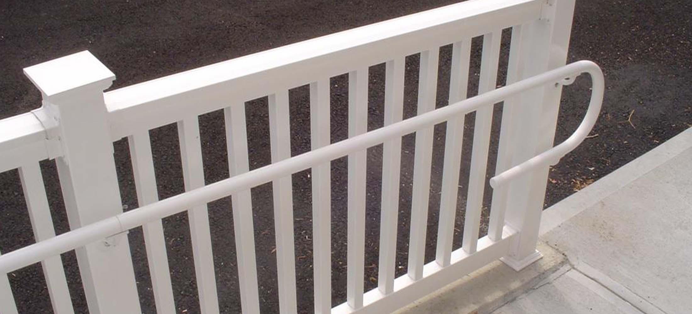 Pvc Handrail Budd Severino Advanced Home Exteriors Inc