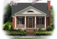 GREEK REVIVAL STYLE HOUSE PLANS - House Plans & Home Designs