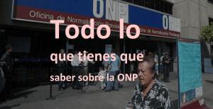 Proponen devolución de ONP, sin 20 años de aporte