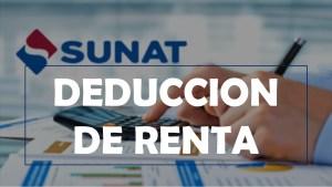SUNAT: Sepa como deducir las 3UIT adicionales para el periodo 2019.