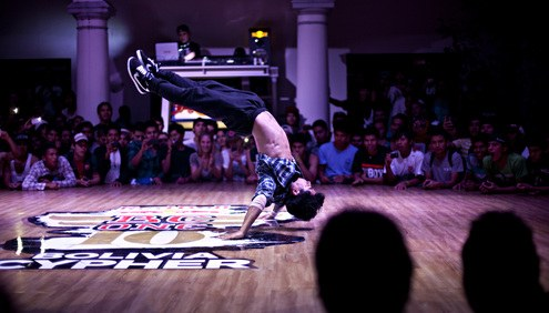 BBoy Giroshi - Performance