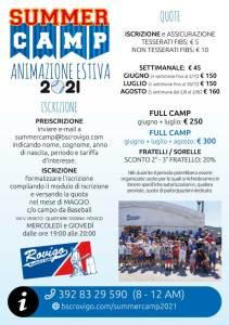 Anteprima Volantino Summer Camp 2021 Retro